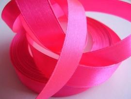 SB123 Satijnband zuurstok roze 15 mm