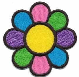 applicatie vrolijke bloem 4.5cm
