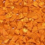 Satijnen strikjes oranje