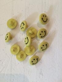 Knoop smile geel