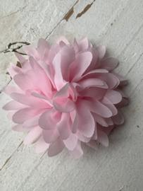 Bloemen chiffon 10 cm Licht roze