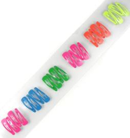 Knipjes neon 3cm (Per 6)