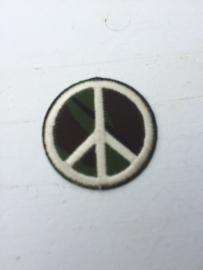 Patches leger peace opstrijkbaar