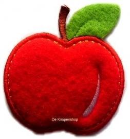 A0260 Velours appel met blad
