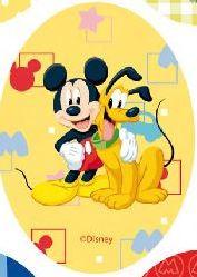 Mickey Mouse & Pluto applicaties opstrijkbaar