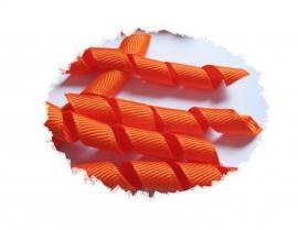 Krullen lint oranje 7cm pst