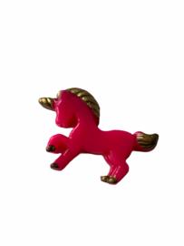Flatback Pony hot pink-gold