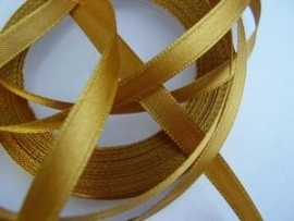 SB07c Satijnband goud 6 mm