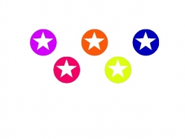 Flatback, Buttons & Sleutelhanger sterren