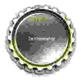 Bottlecap hanger zilver pst met gaatje