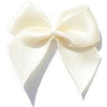 Zelfklevende (plak) strikje wit
