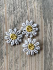 Bloemen kant & organza