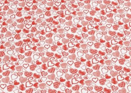 Leer hartjes rood