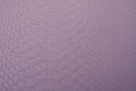 Leer krokodil structuur licht roze