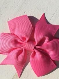 Strik dubbel roze
