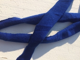 Tricot band royal blue/cobalt blauw hoooked zpagetti