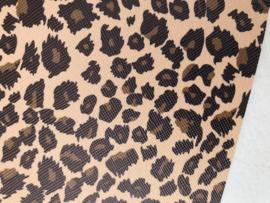 leer panter/tijger  20x30 cm