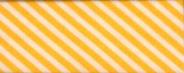Biasband streep wit/geel (6012)