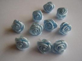 R02 Roosjes pastel blauw 1cm  (10)