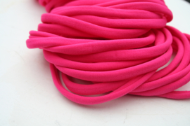 Haarbandje nylon hot pink