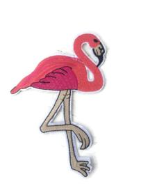 Opstrijk applicatie flamingo