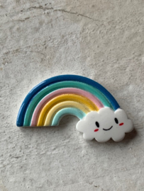 Regenboog flatback pastel