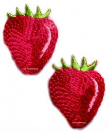A0291 Fuchsia aardbeitjes