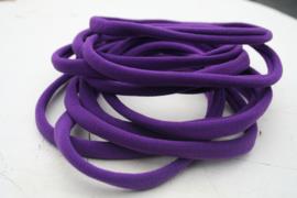 Haarbandje nylon paars