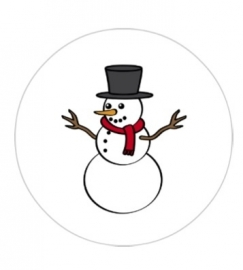 flatback & button sneeuw man