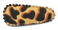 Kniphoesje panter/tijger zand katoen (baby)