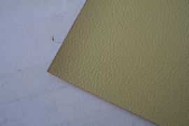 Leer structuur pastel geel