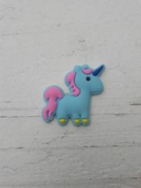 Flatback unicorns blauw