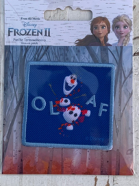 Frozen opstrijk applicatie OLAF