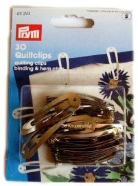 Prym zilveren haarklikklaks/Quiltclips 30st