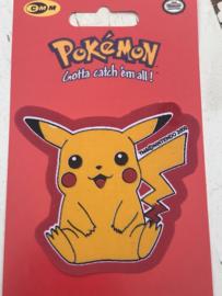 Pikachu Pokemon zit strijkapplicatie