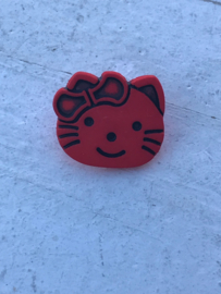 knoop hello kitty rood