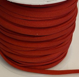 Elastiek rood  5 mm