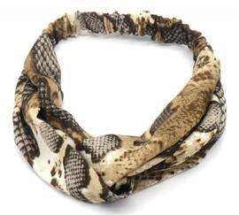 Haarband slangprint