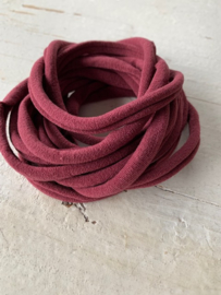 Haarbandje nylon bordeaux