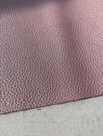 Leer parelmoer structuur pastel lichtroze stoer
