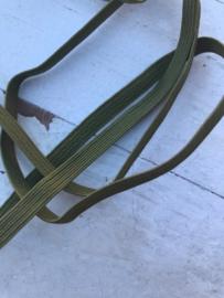Skinny haarband elastiek Legergroen
