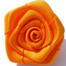 Roosjes oranje 2,5cm