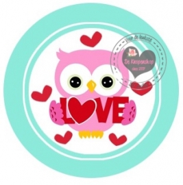Flatback  uiltje & love