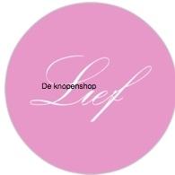 Flatback tekst Lief (dr8)
