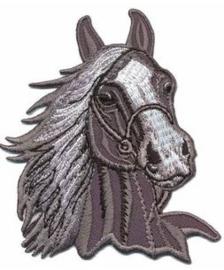 Opstrijkbare applicatie paardenhoofd