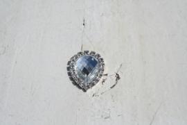 Flatback rhinestone druppel kristal