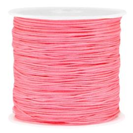 Macramé draad roze peach 0.8mm