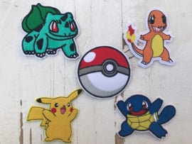 pokemon clefairy strijkapplicatie