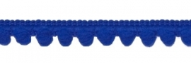 Mini pompomband royal blauw