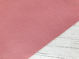Leer structuur glans roze